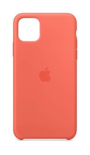 Apple Silicone Case (for iPhone 11 Pro Max) - Clementine (Orange)