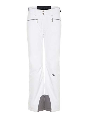 J.Lindeberg W Truuli Pant JL 2L Weiß, Damen Primaloft Hose, Größe XS - Farbe White
