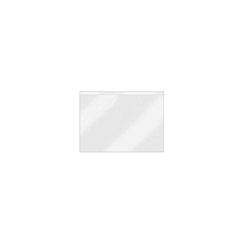 Veloflex 2216500 Beschriftungsfenster VELOCOLL A6 Querformat Sichttaschen Sichthüllen selbstklebend 100 Stück