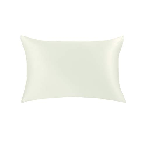 JASMINE SILK 100% Seta Federa Silk Pillowcase 50x75cm Colore: Avorio