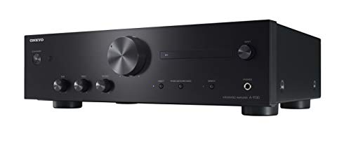 ONKYO A-9130 amplificatore audio Casa Nero