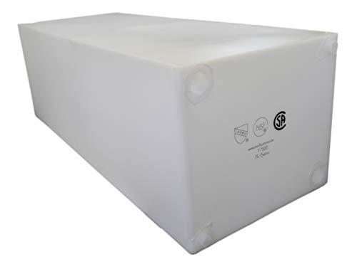 Class A Customs | T-7500 | 75 Gallon Fresh Water Holding Tank NSF/CSA Approved BPA Free