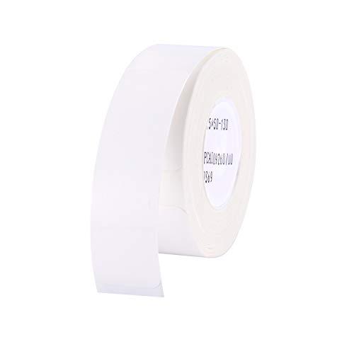 Aibecy Labeldrucker Etikettenpapier Etikettenrolle Barcode Preis Größe Name Blankoetiketten Wasserdicht Reißfest für Home Organizer Supermarkt Shop Catering