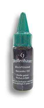 Mollenhauer 6135 Blockflötenöl - Leinöl - Holzpflege für alle Holzblasinstrumente (Blockflöte, Klarinette, usw.)