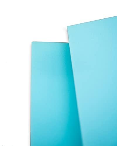 Plancha de Espuma Estándar - Densidad Media D25kg (200 x100 x02 cm de grosor) - Color Azul - Multiusos (Colchón, Relleno para Asientos, Tapicería, Disfraces de Foam, etc)
