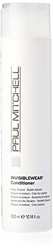 Paul Mitchell Invisiblewear Conditioner - Haar-Pflege für Volumen und Struktur, Conditioner für mehr Feuchtigkeit, Kämmbarkeit und Glanz, 300 ml