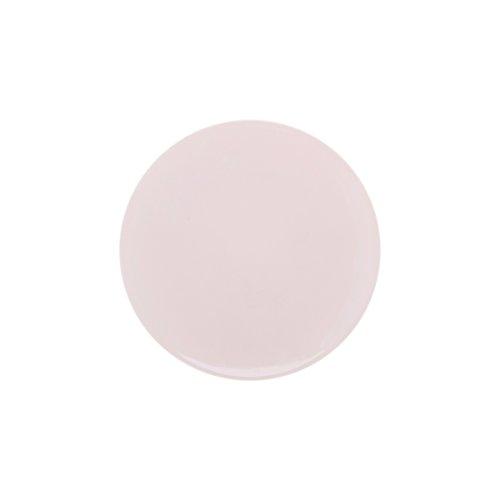DEGRENNE - Modulo Color lot de 6 assiettes à dessert ronde 23 cm, porcelaine - Rose poudré