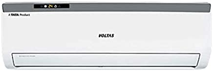 Voltas 1.5 Ton 3 Star Split AC (Copper, 183 EZA, White)