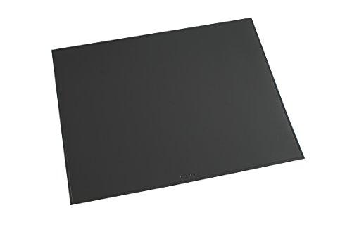 Läufer 40659 Durella Schreibtischunterlage, 52x65 cm, graphit, rutschfeste Schreibunterlage für hohen Schreibkomfort