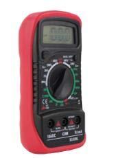 Soapow LCD Digital Multimeter Voltmeter AC&DC Voltage Tester Circuit Checker Buzzer NEW