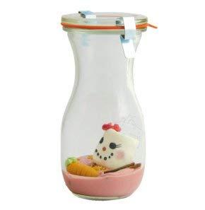 Heiße Schneefrau im Weckglas zum aufgießen mit Milch I Geschenkidee