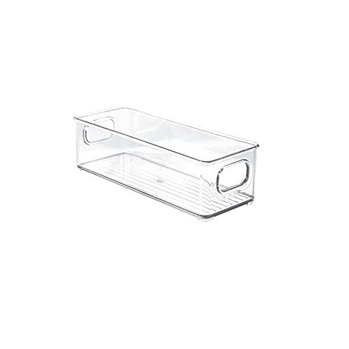 Sailsbury Caja de almacenamiento para frigorífico, tipo cajón, transparente, para el hogar, para congelar huevos, alimentos, con asas