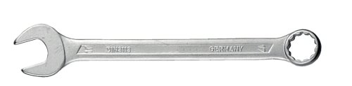 CONNEX Gabel-Ringschlüssel, abgewinkelt, Chrom Vanadium, 18 mm
