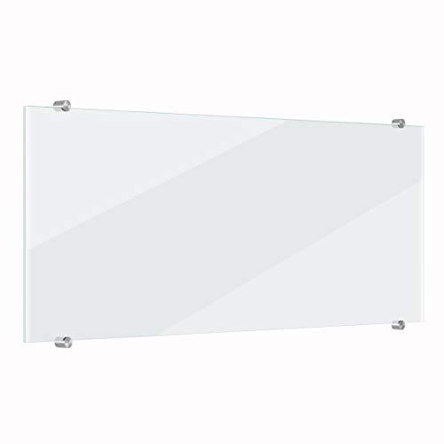 Bilderwelten Küchenrückwand transparent Klar-Glas 59 cm x 120 cm Küche Herdblende Spritzwand
