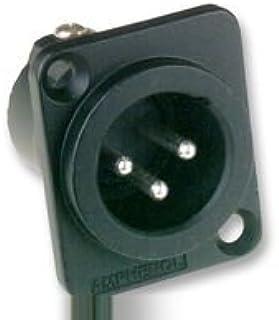 X-ON AC3-MMDZB XLR Connectors - 1Pcs