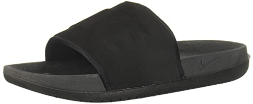 Nike Offcourt Slide, Sneaker Mujer, Anthracite/Negro, 40.5 EU