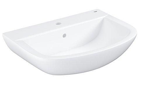GROHE Bau Keramik | Bad Keramik - Waschtisch | 65cm mit Überlauf | 39420000