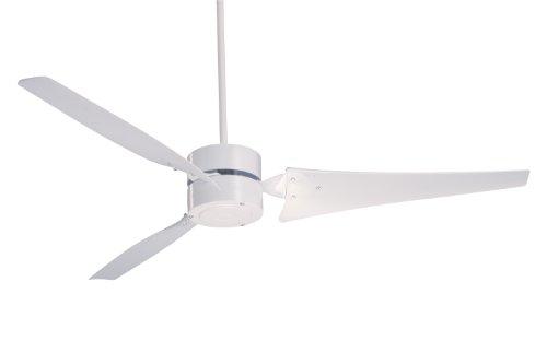 Emerson HF1160WW Heat Fan, Indoor Ceiling Fan, 60-Inch Blade Span, Appliance White Finish, Appliance White Blades