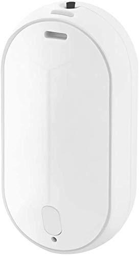 Mini Luchtreiniger, Draagbare Luchtreiniger Ketting Mini Persoonlijke Negatieve Ionen Luchtverfrisser, Stof/Pollen/Rook/Geuren Verwijderaar,White