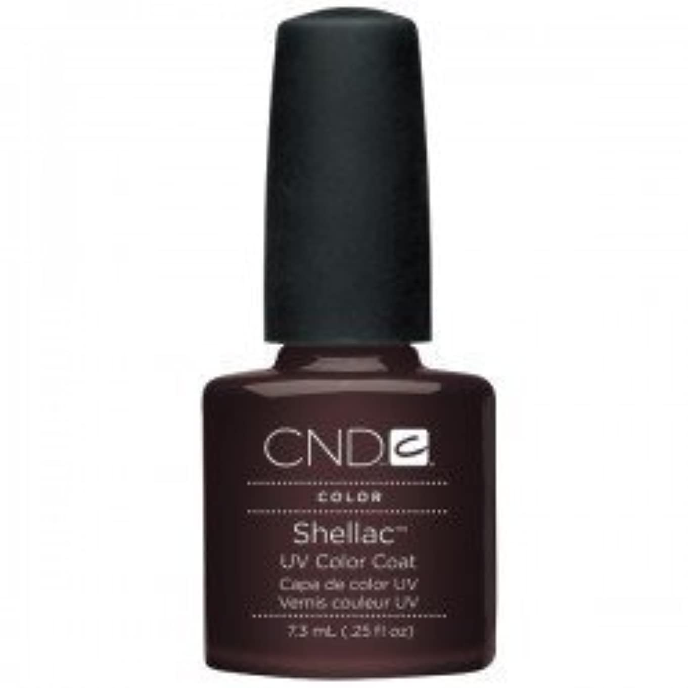 咲く四分円相談するNew CND Creative Shellac UV3 Nail Power Polish - Fedora 7.3ml by CND Creative Nail Designs