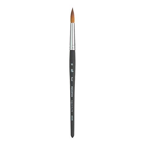 Princeton Aqua Elite NextGen Artist Brush, Series 4850 Synthetic Kolinsky Sable for Watercolor, Round, Size 10