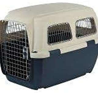 HANU Plastic Flight Cage for Dogs 18 Inch 024