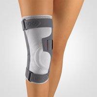 Bort Asymmetric® Plus Kniebandage, silber XXXL plus rechts