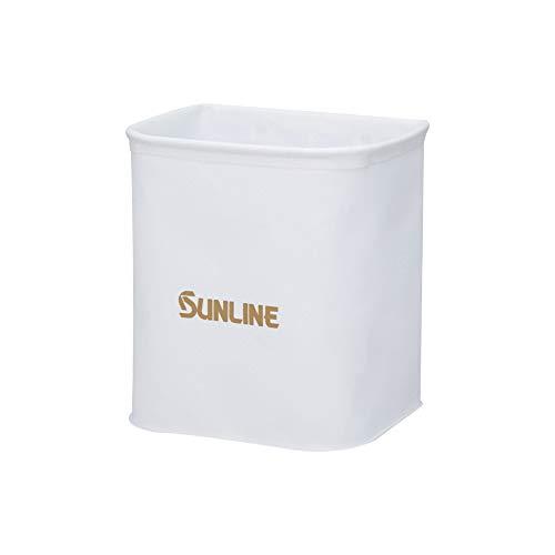 サンライン(SUNLINE) 水切りバッカン SB-380 ホワイト 250mm×200mm×280mm