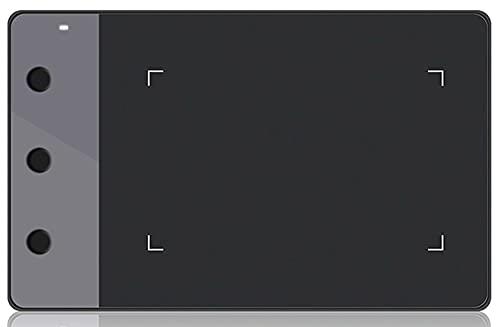Xyfw Tabletas Gráficas De Firma Profesional Tabletas De Lápiz Digital Tabletas De Dibujo Artístico USB Negro para Windows Mac OS