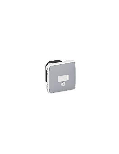 LEGRAND - Va-et-vient témoin sans neutre composable gris 6 AX LEGRAND PLEXO 069515 - LEG-069515