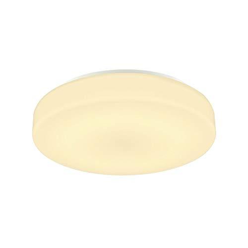 SLV LIPSY 40 Drum CW Applique murale et plafond LED pour extérieur IP44 3000/4000 K Blanc