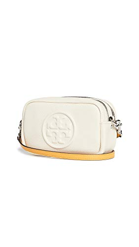 Tory Burch Women's Perry Bombe Mini Bag, New Cream, Off White, One Size