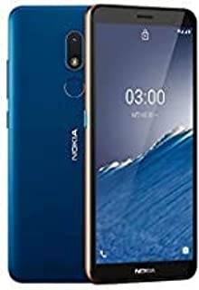 (Renewed) Nokia C3 Android 10 Smartphone with 2GB RAM 16GB Storage, All-Day Battery and Fingerprint Sensor – Nordic Blue