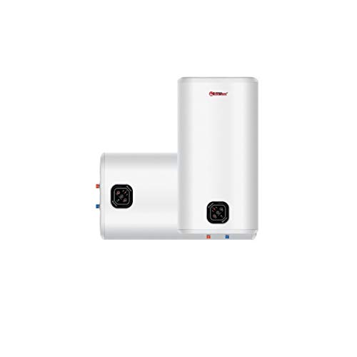 Termo electrico de almacenamiento SMART – Tanque interior BIO-Vitrificado – Montaje Multiposicion – Panel de Control Tactil - Clase Energetica B – 5 anos Garantia (50 Litros)