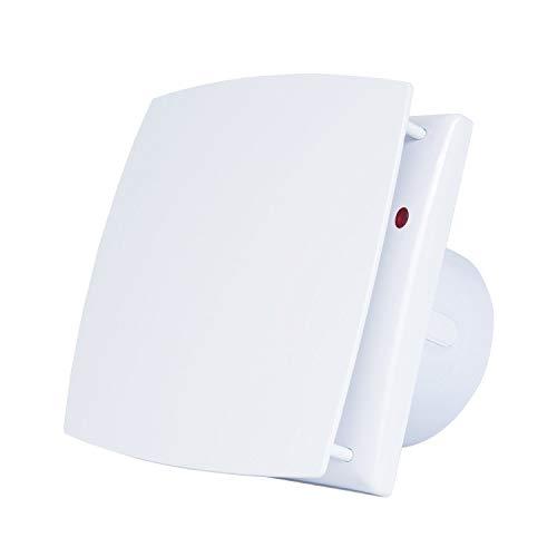 Hon&Guan 100mm Silenzioso Estrattore Ventilatore Soffitto - Aspiratore Aria da Parete per Bagno