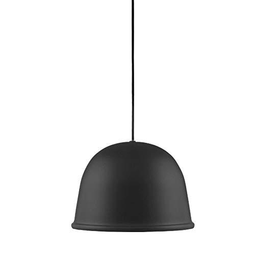 Normann Copenhagen Local plafondlamp, staal, zwart, 19 x 28 cm