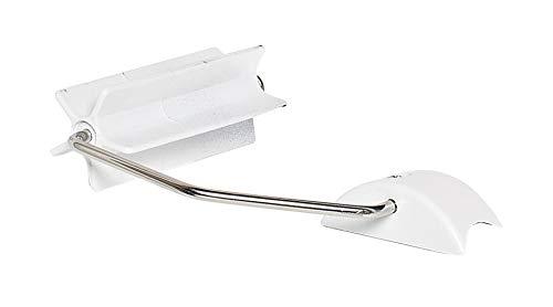 RIDDER WC-Papierhalter für WC-Aufstehbügel Tim weiß