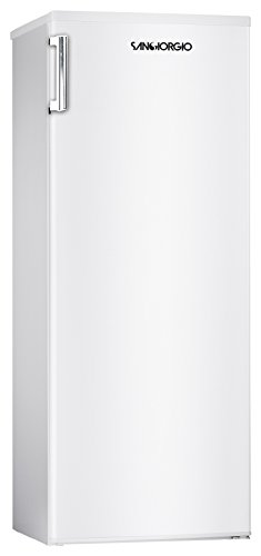 SanGiorgio SF18SW Independiente Vertical 160L A+ Blanco - Congelador (Vertical, 160 L, 12 kg/24h, N-ST, A+, Blanco)