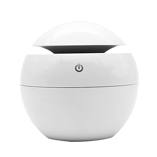 Fesjoy Luz de Noche Que Cambia de Color, Humidificador de Aire USB Difusor de Aceite de Aroma Cool Mist Maker Cambio de Color Madera LED Luz Nocturna Aromaterapia doméstica para Oficina en casa
