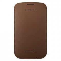 elcosmo EFC-1g6lde Originale Samsung i9300Galaxy S3Custodia–Choco Marrone