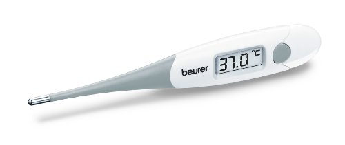 Beurer FT 15/1 Fieberthermometer, weiß / grau