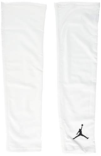 NIKE Shooter Sleeves Mangas, Unisex Adulto, Multicolor (Blanco Negro), S M