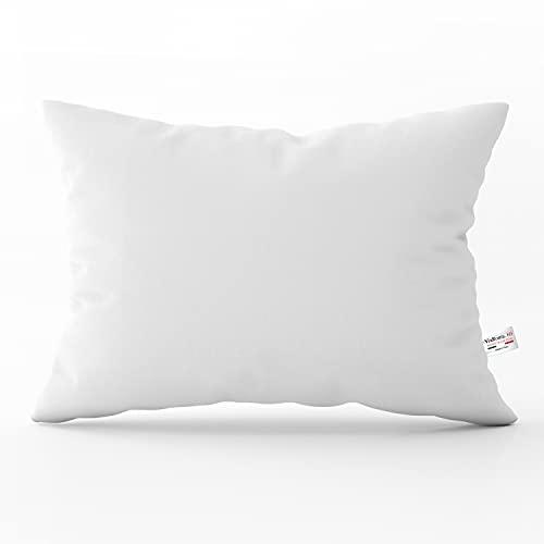 Cuscini letto 50x80 federa 100% Cotone Antiallergico Antibatterico dolce sonno Confort