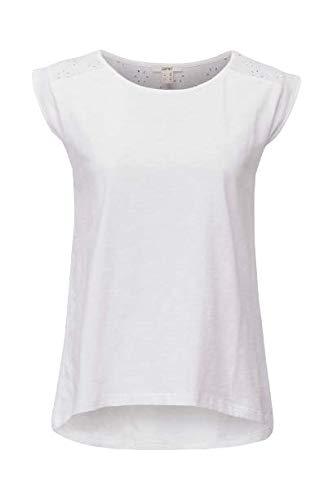 ESPRIT 030ee1k414 T-Shirt, 100 / Bianco, M Donna