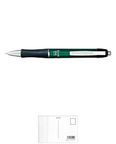 ぺんてる ボールペン ジェイクラブ BK270 緑 BK270D / 10セット + 画材屋ドットコム ポストカードA