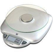 11-lb Glass Digital Kitchen Scale-Biggest Loser-3842BL9