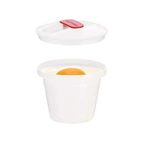 Tescoma Purity Microwave Cuoci Uova in Cocotte, Bianco, 2 unità