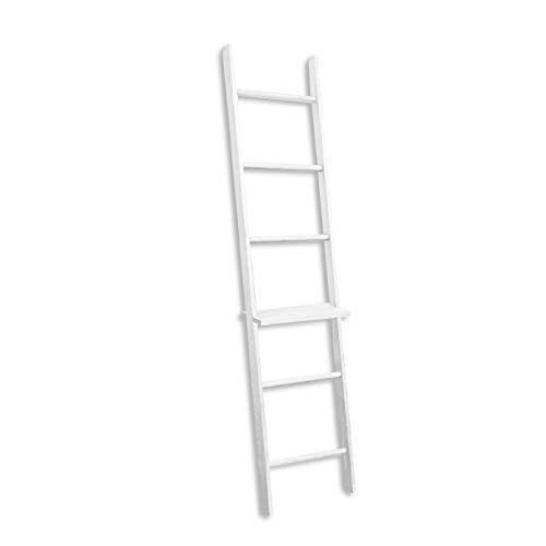 BALIBETOV Escalera Decorativa de Madera Pino - Ideal como To
