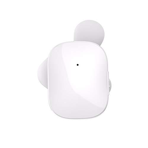 TWS Auricular Bluetooth OYSOHE Inalámbrico Auriculares con Dos Orejas Micrófono Auricular Manos Libres Inteligente (Blanco)