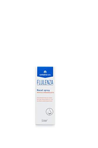 Flulenza Nasal Spray - Protección Natural, Descongestiona la Nariz, Reduce la Inflamación, Alivia los Síntomas como Sequedad, Estornudos y Picor, 20 ml
